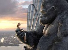 KING KONG MOVIE THE BLOCKBUSTER MOTION PICTURE DECEMBER 2005 NAOMI WATTS, JACK BLACK, ADRIEN BRODY