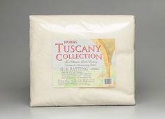 Tuscany Silk Batting is a favorite of Wendy Sheppard, Ivory Spring