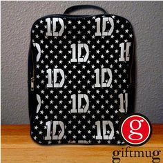 1D One Direction Logo 1 Collage Backpack for Student
