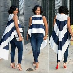 the very best casual outfit a fashionista should have in her closet at the moment African Attire, African Fashion Dresses, African Wear, African Dress, Look Fashion, Girl Fashion, Fashion Outfits, Fashion Trends, Feminine Fashion