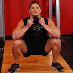 Goblet Squat -  One of my favorite workouts