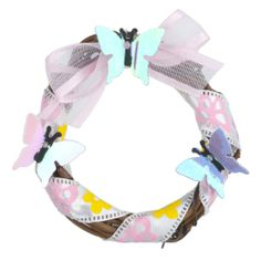 Miniature Spring is A-Flutter Wreath
