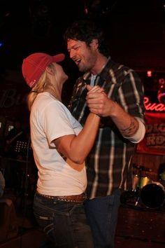 Blake Shelton and Miranda Lambert--kinda reminds me of us lol personalities are similar