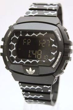 Adidas Originals NYC Digital Chronograph Indiglo Date Watch 50mm x 45mm ADH6118 #adidas