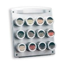 I think this would save counter space and cabinet space... need the clear labels too!