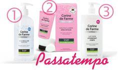 Amostras e Passatempos: Passatempo Corine de Farme by Electric Vanilla