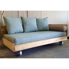 Lowcountry Swing Beds Isle of Palms Cedar Outdoor Daybed