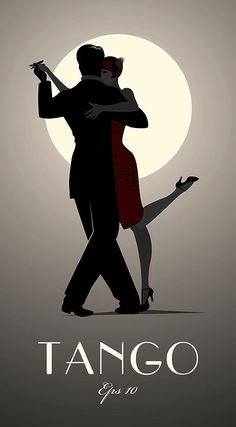 Tango by moonlight. Romantic, sensual and sexy when you dance the dance of the heart in the streets of Buenos Aires and you can feel the Tango take over your body. Tango Art, Couple Dancing, Shall We Dance, Dance Art, Under The Moon, Dancing Drawings, Tango, Dance Poster, Dance Photography