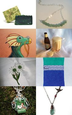 GREEN WITH ENVY!!!!!!!! BLAST Treasury!!! 9/12 by jacqueline swain on Etsy--Pinned with TreasuryPin.com