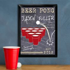 Shop for personalized beer pong specialist traditional pub sign. Beer Pong, the drinking game of champions, is sweeping the nation! Diy Wedding Supplies, Diy Party Supplies, Wedding Ideas, Wedding Favors, Pub Signs, Beer Signs, Personalized Birthday Gifts, Personalized Favors, Personalized Wedding