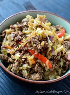 Asian Beef & Cabbage