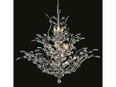 Elegant Lighting Orchid Royal Cut Chrome $4120 for Elegant Cut Crystal