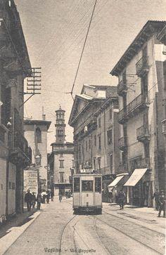 Verona - Via Cappello fine anni 10