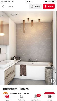 30 Wood Tile Bathroom Design Ideas - Better Homes and Gardens Bathroom Tile Designs, Bathroom Layout, Modern Bathroom Design, Bathroom Interior Design, Bathroom Ideas, Bathroom Grey, Bathroom Vanities, Master Bathroom, Shower Ideas