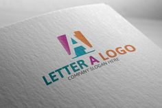 Letter A Logo by Josuf Media on Creative Market