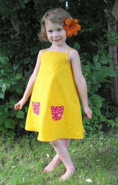 Solar Dress - free pattern solar dress, dress patterns, little girls, sewing machines, summer dresses, dress tutorials, free pattern, dress free, clothes sewing patterns free