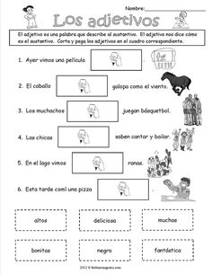 Archives - The Learning Patio Más Spanish Worksheets, Spanish Teaching Resources, School Worksheets, Spanish Lessons, Bilingual Classroom, Spanish Classroom, Bilingual Education, Speech Language Therapy, Speech And Language