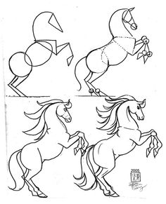 Draw a Horse 2 by Diana-Huang on deviantART - Horses Funny - Funny Horse Meme - - Draw a Horse 2 by Diana-Huang on deviantART The post Draw a Horse 2 by Diana-Huang on deviantART appeared first on Gag Dad. Doodle Drawing, Drawing Sketches, Painting & Drawing, Sketching, Drawing Lessons, Drawing Techniques, Horse Drawings, Animal Drawings, Horse Sketch