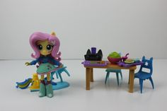 My Little Pony Equestria Girls Minis Fluttershy School Cafeteria Set NEW | eBay