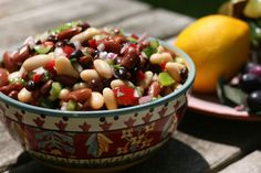 Three Bean Salad @ Simple Living Eating