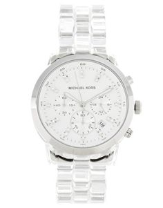 Michael Kors Clear Acrylic Watch