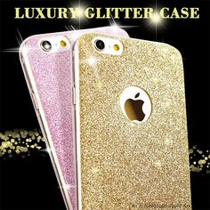 Luxury Fashion Glitter Bling Phone Case For Apple iPhone 5 5S SE 6 6S 7 Plus 7Plus Shine Protector Cell Phone Soft Back Cover $3.97   #fashion #iwant #swag #instafashion #glam #instastyle #stylish #love #ootd #model #styles #beautiful #streetstyle #sweet #pretty