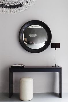 OCHRE Convex Mirror http://www.ochre.net/products/handles-accessories/mirrors/convex-mirror/80cm-diam/