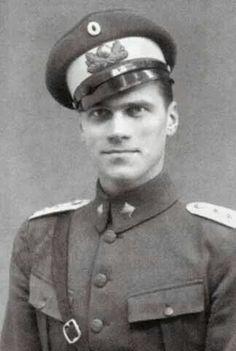 """Tikhon Alexandrovich Kulikovsky. ....son of Grand Duchess Olga Alexandrovna Romanova of Russia """"AL"""""""