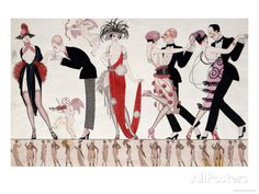 The Tango Reproduction d'art