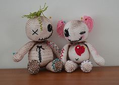 Voo Doo Dolls - free crochet patterns