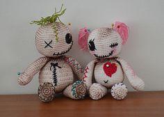 Voo Doo Dolls - free crochet patterns