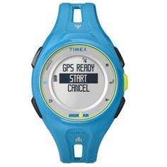 Timex Ironman Run x20 GPS Watch - Bright Blue