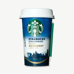 One of my first designs from my time working at Starbucks! So cool to see it finally being distributed! Starbucks Discoveries ® New York non-sweet latte