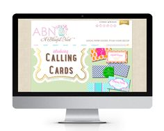 A Blissful Nest website design and development by The Savvy Socialista.