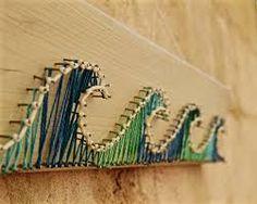 Image result for wave pattern string art