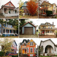 Quaint Portland Homes. One day...