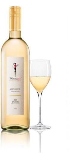 It's hard to beat the 100-calorie servings in a bottle of Skinny Girl Moscato ($18.99). One glass of this sweet, sparkly wine will have you toasting to the night—and your waistline!