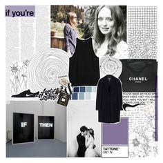 """""""i know it breaks your heart ✰"""" by xheyitssanx ❤ liked on Polyvore featuring Chanel, Brinkhaus, Monki, MSGM, NIKE and Assouline Publishing"""