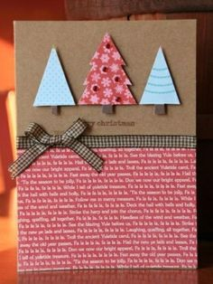 Homemade Christmas cards ideas - Little Piece Of Me More