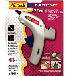 Ad-Tech Cordless Two Temp Glue Gun