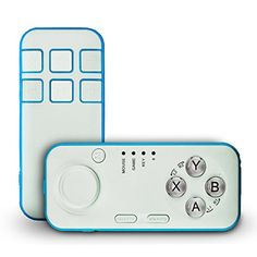 SUNNYPEAK Multifunctional Wireless Bluetooth Gamepad Controller Handheld Self Timer Compatible with AndroidPC for Playing 3D VR Games Taking Pictures Music Player Ebook Flip Blue >>> Check this awesome product by going to the affiliate link Amazon.com at the image.