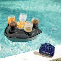 Cool Product Design (20 Pics) remote control pool cup & snack holder
