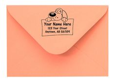 Personalized Custom Made Return Address and Name Rubber Stamps R27