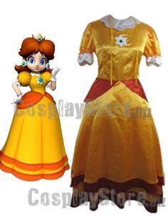 Best Super Mario Bros Daisy Cosplay Costume