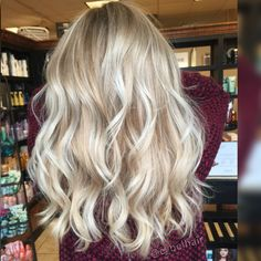 All American blonde! Yaaassss please! Hair by Emily Belcher