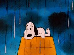 Snoopy on a rainy day Cartoon Profile Pictures, Cartoon Pics, Cute Cartoon, Snoopy Love, Charlie Brown And Snoopy, Snoopy Wallpaper, Disney Wallpaper, Rain Meme, Snoopy Cartoon