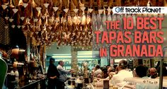 2011 - top 10 tapas-bars-granada Go Spain, Spain And Portugal, Places In Spain, Places To See, Never Been To Spain, Spain Honeymoon, Travelling Tips, Traveling, Best Tapas