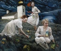 Andrea Kowch: In Silence Known | The Watch | Far Away | Light Keepers | Dream Chaser