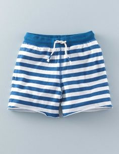 Stripy Sweatshorts 22444 Shorts at Boden