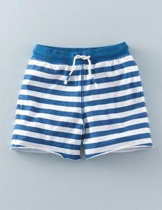 Stripy Sweatshorts 22444 Shorts at Boden